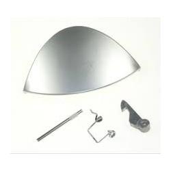 Indesit Silver door handle kit