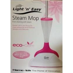 Home-Tek Light 'n' Easy Steam Mop HT871 - Pink
