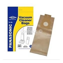 Panasonic Vacuum Bags 5 Pack BAG60